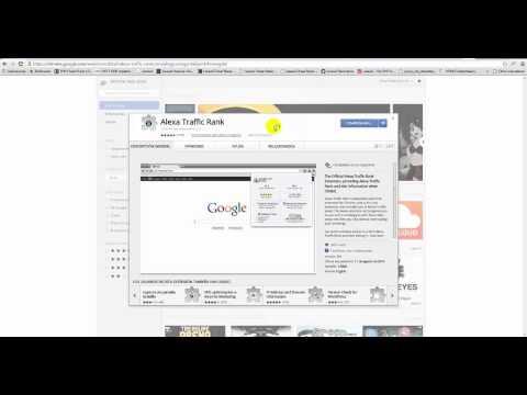 Install Alexa Toolbar In Google Chrome
