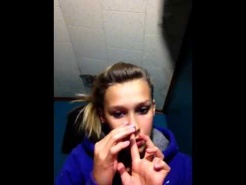 How to put in and take out a corkscrew nose piercing