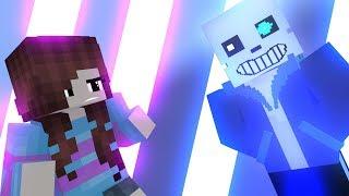 Sans VS Frisk (Undertale Minecraft Animation)