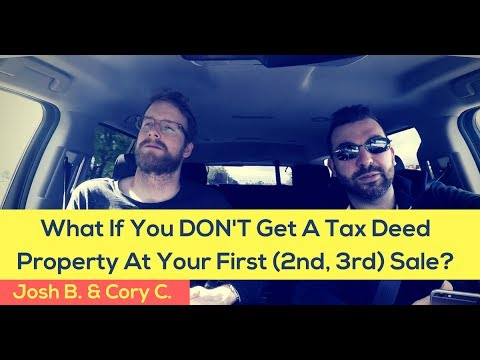 Tax Deed Investors: Don't Be Disappointed If You Don't Get A Property