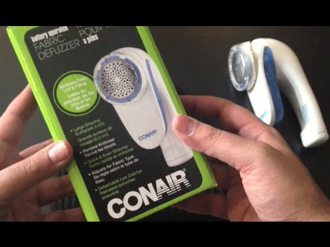 Conair Battery Operated Fabric Defuzzer Review (Save money on clothes, Remove Fuzz, Pilling)