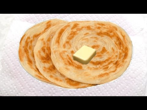 Malabar Parotta Recipe Video - Laccha Paratha or Kerala Parotta recipe | Layered Roti Recipe