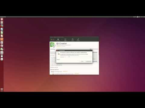 Install Qt Creator in Ubuntu 14.04 LTS