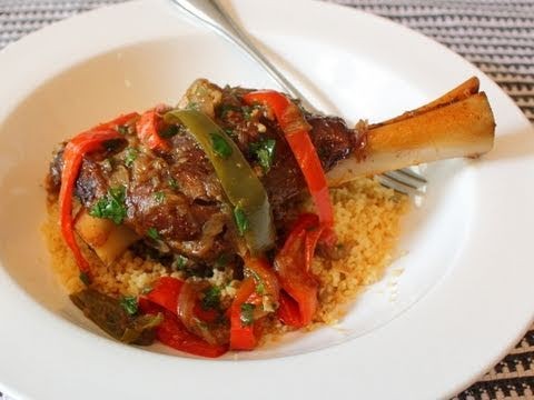Lamb Caldero Recipe - Lamb Shanks Braised in Latin Dutch Oven