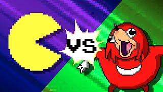 Pacman vs Uganda Knuckles