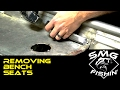 Removing Bench Seats | Jon Boat to Bass Boat Restoration