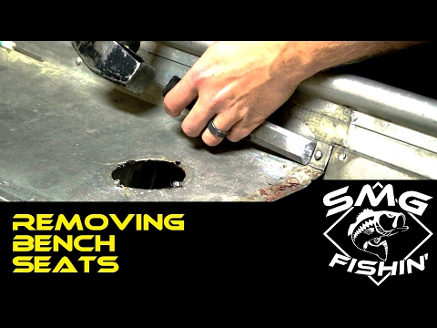 Removing Bench Seats | Jon Boat to Bass Boat Restoration
