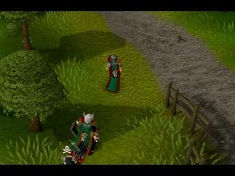 Runescape - 99 Attack party! Second 99 skill!!!