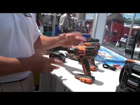 2014 Hardware Show: Ridgid 18-volt power-tool system