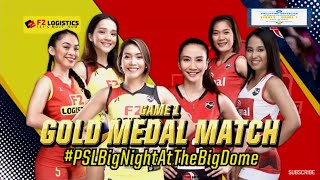 Finals Highlights Game 1 Cignal HD vs F2 Logistics PSL All Filipino Conference 2019