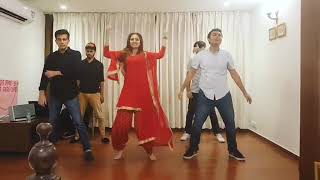 Sargun Mehta Dance at the Marriage rehearsals