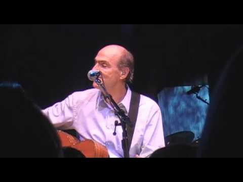 James Taylor live at Tanglewood singing Sweet Baby James