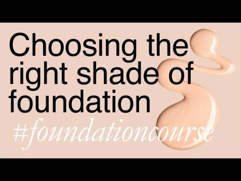 Finding The Right Shade Of Foundation - Lisa Eldridge