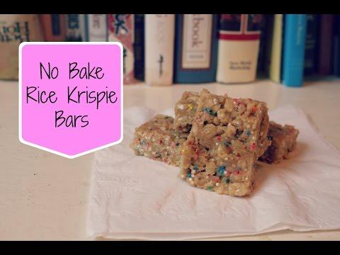 No Bake Rice Krispie Bars| Lilybelle Morris