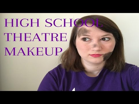 How I Did My Makeup for Theatre in High School