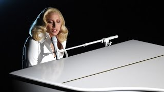 Lady Gaga Joined on Stage by Sexual Abuse Survivors for Emotional Performance At 2016 Oscars