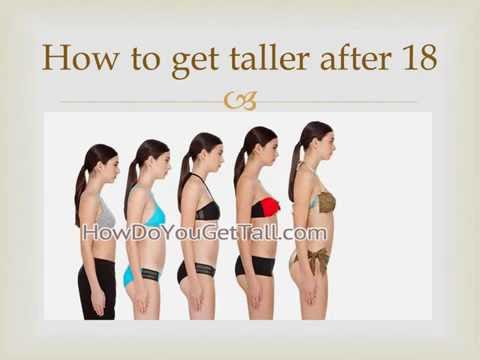 ✪✪How to Grow Taller Naturally After 18 ✪ For Men and Women