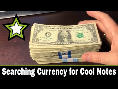 Searching Currency for Cool Notes!