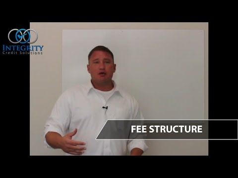 Fee Structure - Integrity Credit Solutions