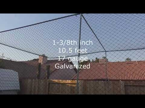 HOW TO BUILD A BATTING CAGE IN YOUR BACKYARD