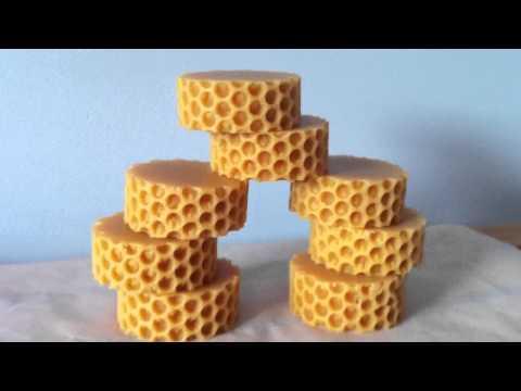 Triple Milk Oatmeal  Honeycomb Citrus Shea Butter Soaps Cut
