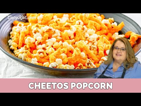 How to Make Cheetos Cheese Popcorn