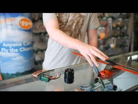 How to Match a Brushless DC Motor to a Speed Control RC Airplane : RC Planes
