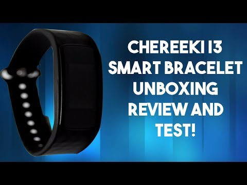 Chereeki/Latec I3 Plus Smart Bracelet Unboxing  Review and Test!