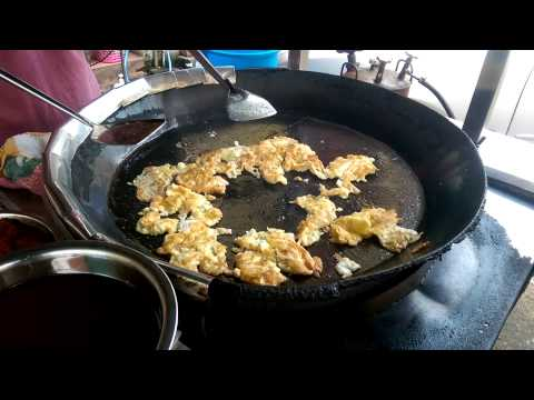 Muar Famous Oh Chien Oyster Omelette