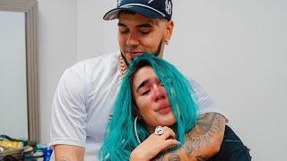 La canción con la que Anuel hizo llorar a Karol G