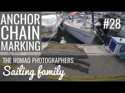 Ep 28 - Anchor chain marking and more boat works