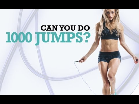 Jump Rope Workout Challenge (CAN YOU DO 1000 JUMPS?)
