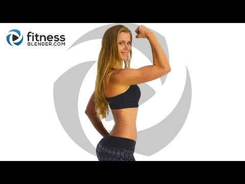 At Home Upper Body Workout for Toned Arms, Shoulder & Upper Back