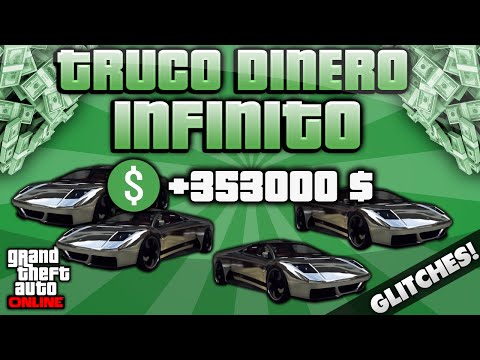 GTA V ONLINE TRUCO DINERO INFINITO - DUPLICAR VEHICULOS MUY FACIL SIN ESPERAS
