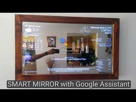 Xxx Mp4 Smart Mirror With AI Using Raspberry Pi Plays Youtube News Controls Nest Smart Light Etc 3gp Sex