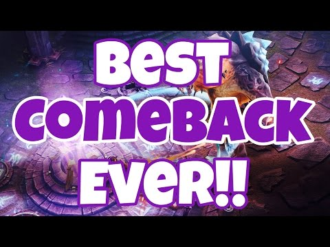 Vainglory - BEST COMEBACK EVER!!