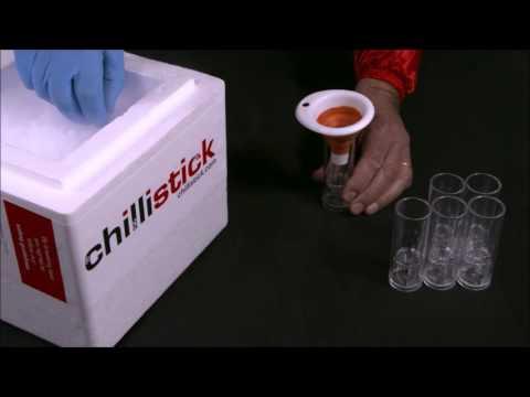 Create Smoking Shots Using The Ice Breaker Shot Glass from Chillistick