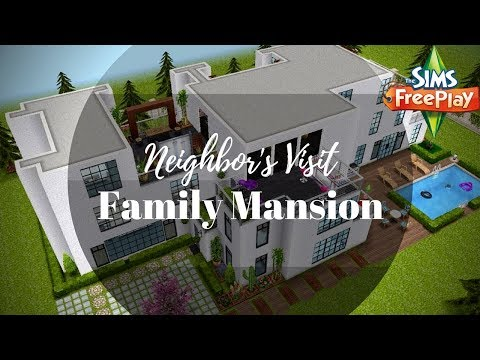 Family Mansion By Claudia | Sims FreePlay