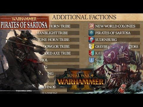 Minor Factions: Karak Zorn, Pirates of Sartosa, Knights of