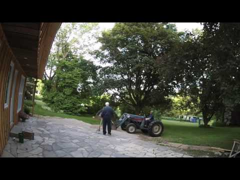 One way to Build a Flagstone Patio