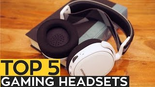 TOP 5: Best Gaming Headsets 2017/2016