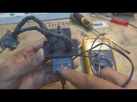 Repairing a switch mode power supply. SMPS repair.