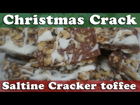Christmas Crack Saltine Cracker toffee