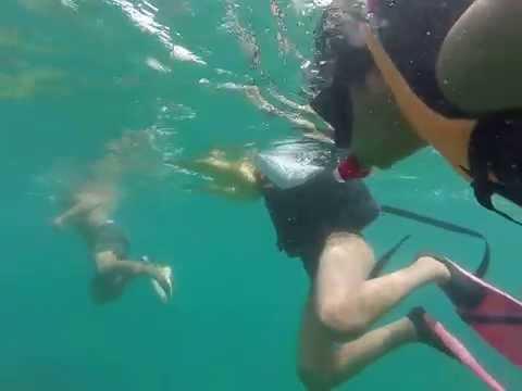 Snorkeling at Pandan Islands in Palawan