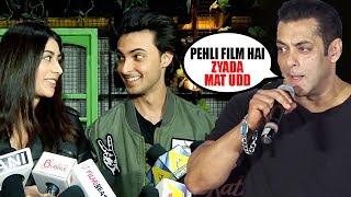Salman Khan GETS ANGRY On Aayush Sharma For HURTING His SIS Arpita Khan