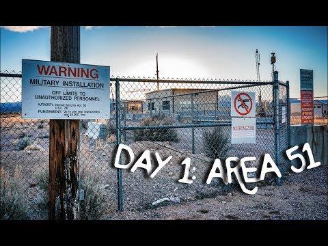 California to Florida Road Trip Day 1 - Area 51