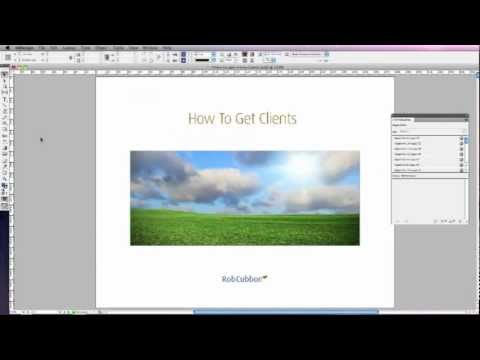 Create Interactive Adobe PDF with InDesign