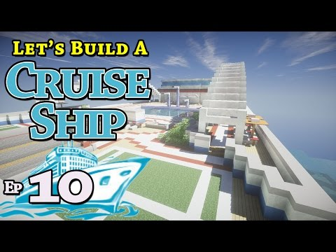 How To Build A Cruise Ship :: Minecraft :: E10 :: Z One N Only