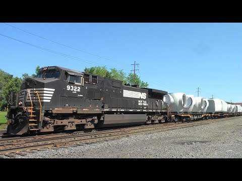 NS 057 Windmill (Parts) Train in Hershey, PA on the NS Harrisburg Line