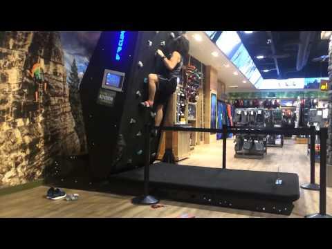 Rock Wall Treadmill